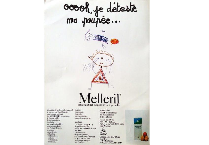 Le neuroleptique Melleril®