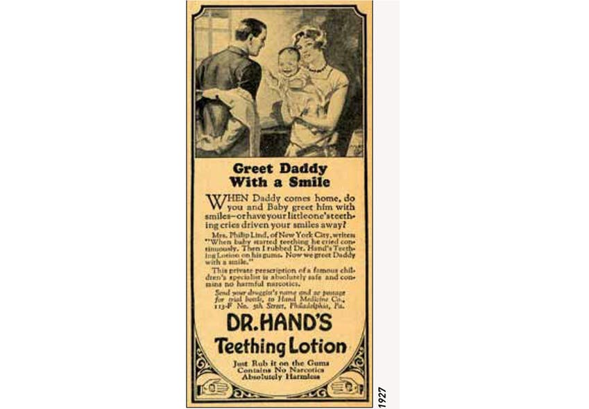Lotion Teething Lotion Dr Hand's