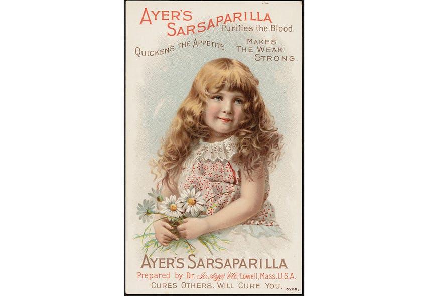Remède Ayer's Sarsaparilla