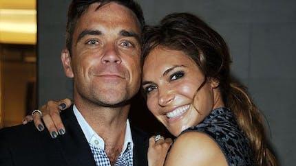 Robbie Williams : sa femme à la pointe de la mode même   pour accoucher !