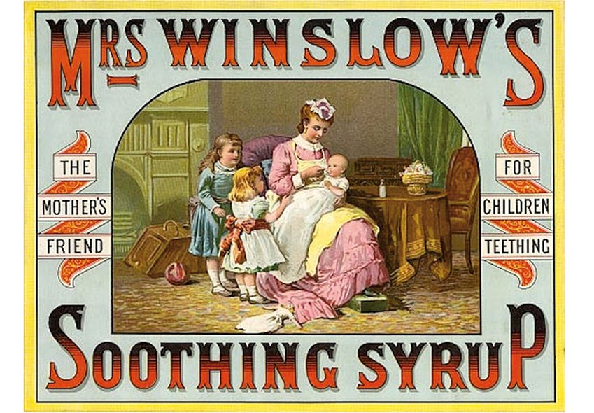 Sirop apaisant Mrs Winslow's