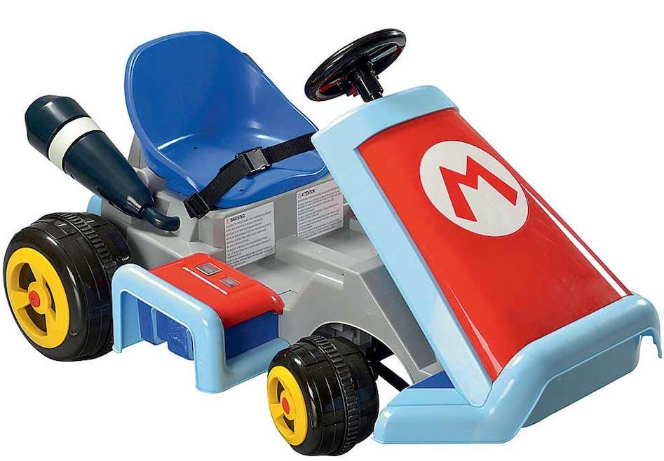 Super Mario Karting électrique 6V