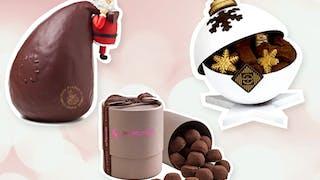 Les chocolats de Noël