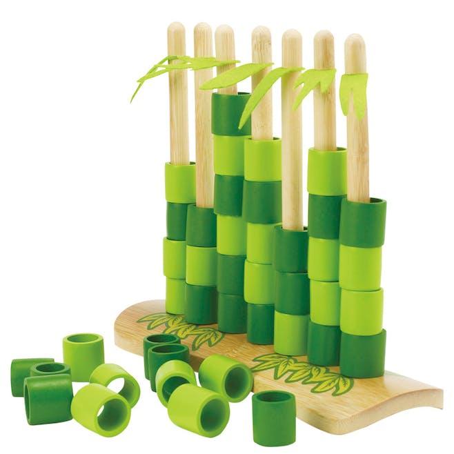 Jeux de stratégie en bambou