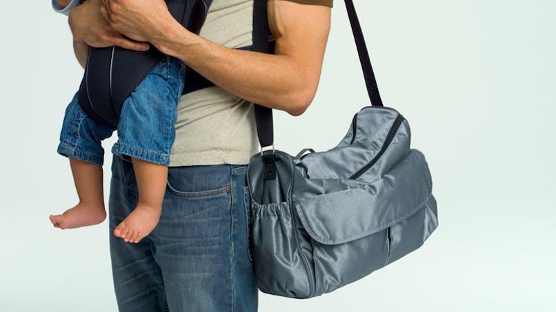 Banc d'essai des sacs à langer citadins
