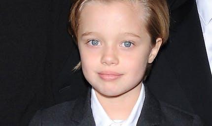 Angelina Jolie et Brad Pitt, leur fille Shiloh en mode 100   % garçonne