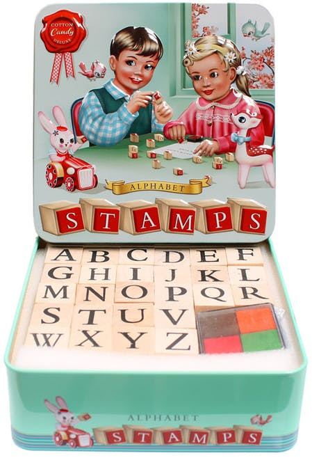 Kit tampons Alphabet