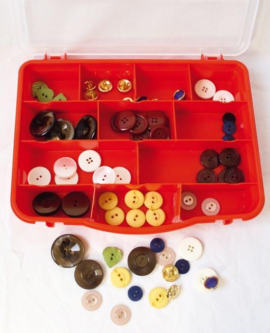 Montessori boîte à boutons