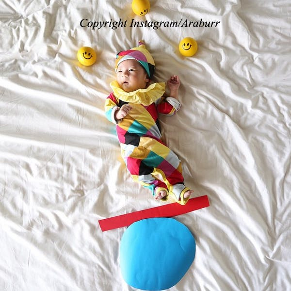 Bébé arlequin