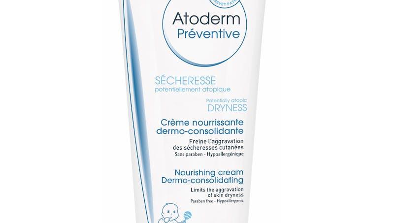 Catégorie Soins Hydratants Visage et Corps (circuit         sélectif) : Crème hydratante visage et corps gamme         préventive Atoderm de Bioderma