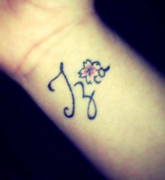 Le tatouage d'Anaïs