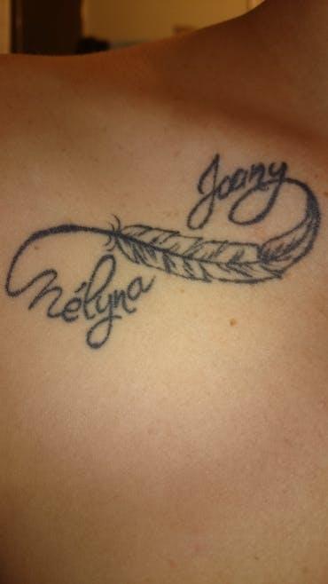 Le tatouage d'Audrey pour Joany et Mélyna