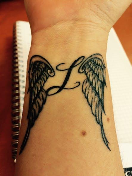 Le tatouage d'Eliane pour Lucas