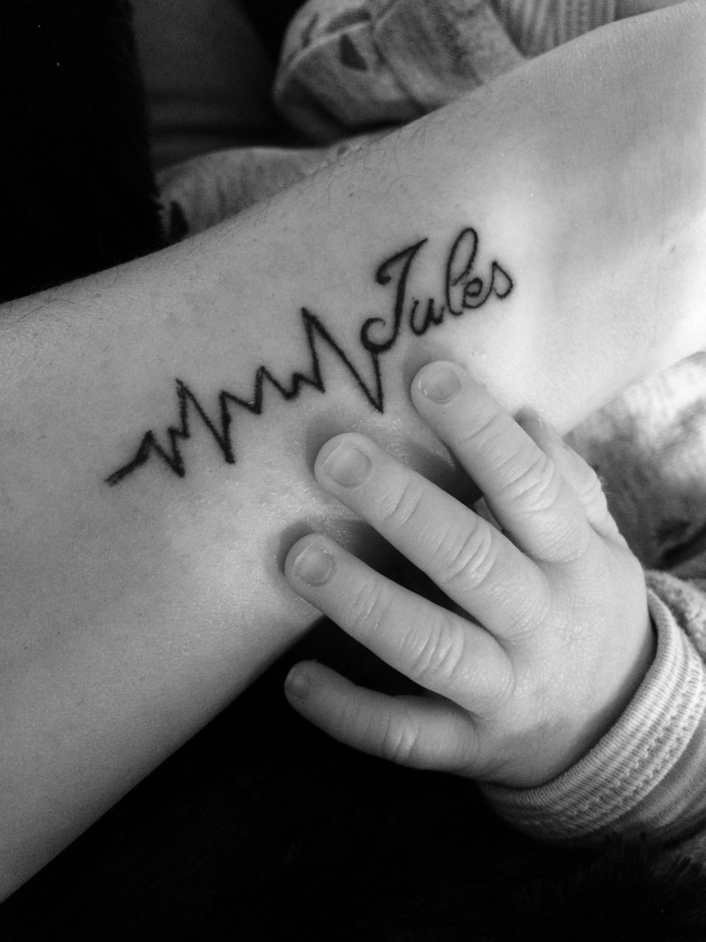 Le tatouage de Julie pour Jules