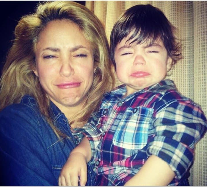 Quand Shakira imite Milan...