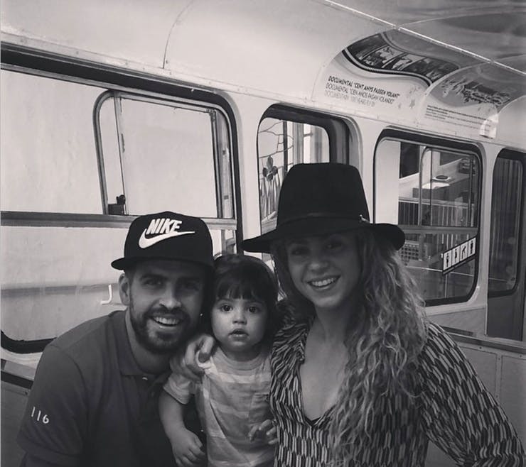 Shakira, Gerard Piqué et Milan...