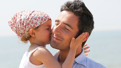 Papa divorcé et sa fille