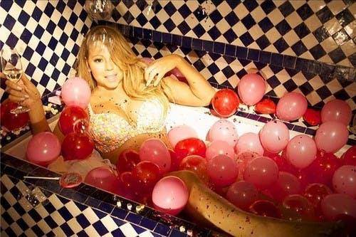 Un Bain hors du commun pour Mariah Carey