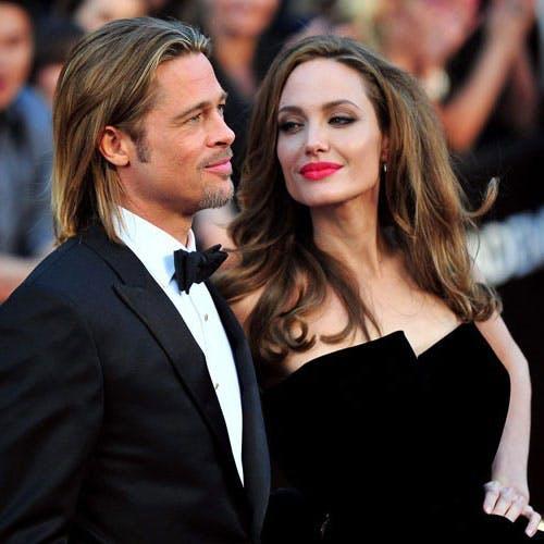 Angelina Jolie et Brad Pitt