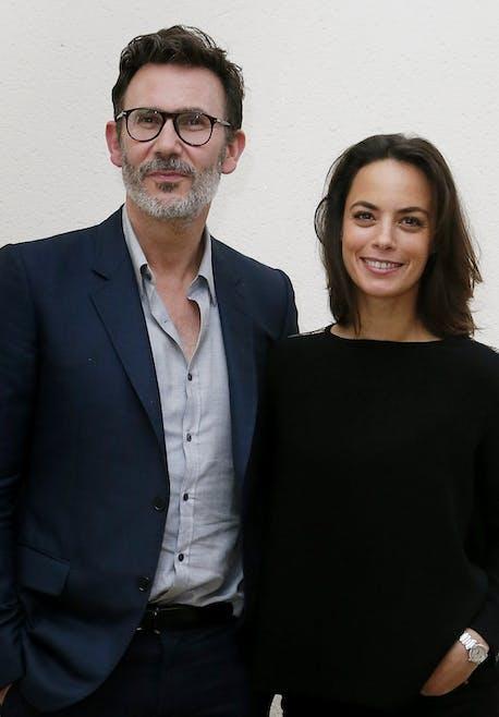 Bérénice Bejo et Michel Hazanavicius
