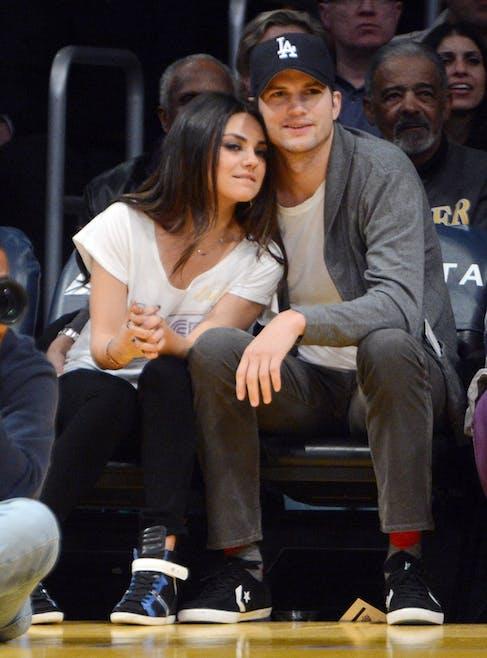 Mila Kunis et Ashton Kutcher