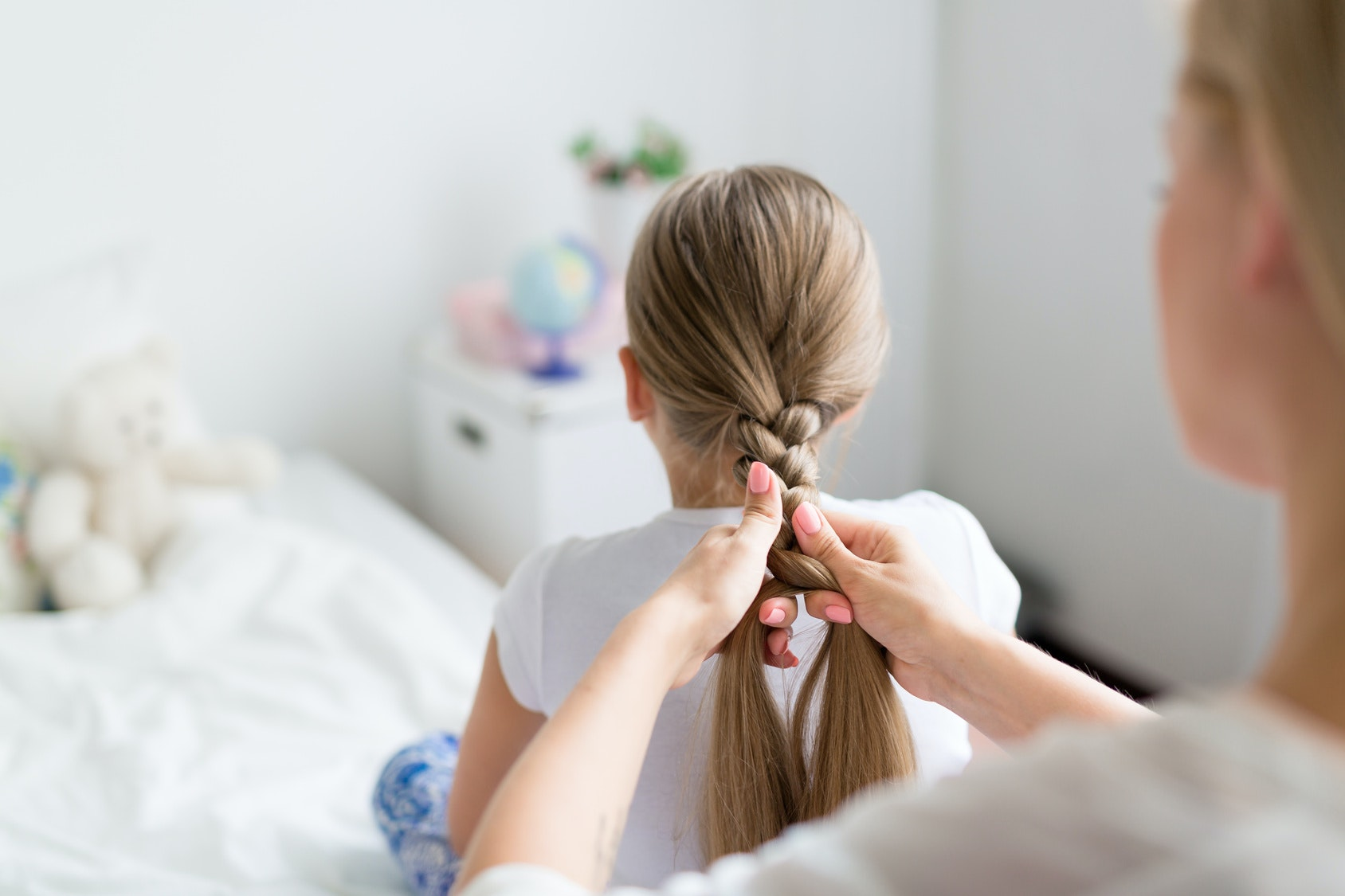 Jolie coiffure sur cheveux court