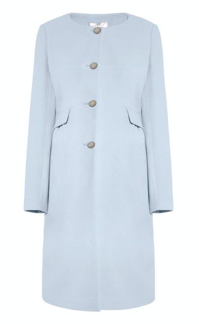 Manteau de maternité en cachemire Natasha