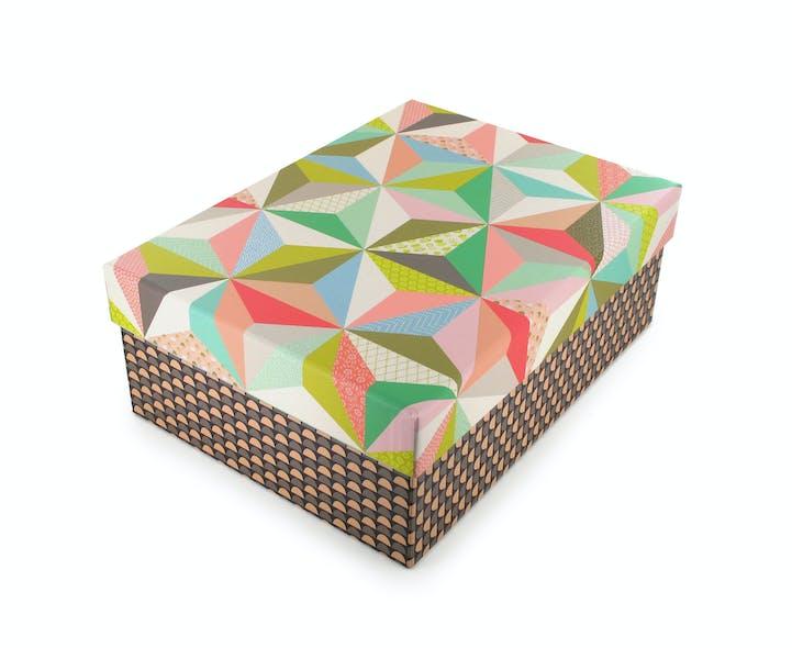 Boîte de rangement Origami