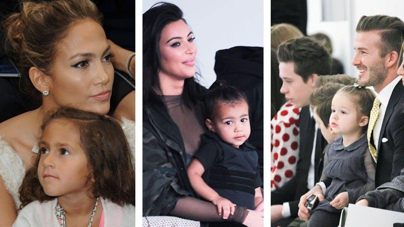 Fashion Week : quand les stars emmènent leurs enfants aux   défilés de mode