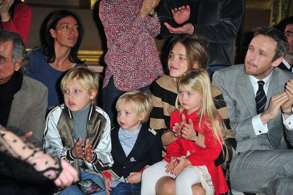 Natalia Vodianova et ses enfants