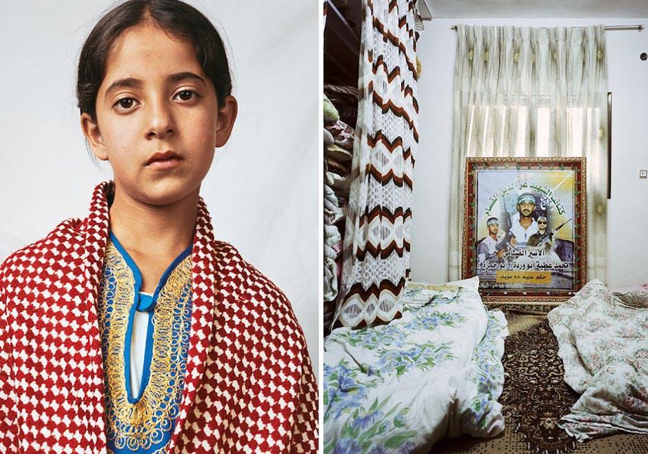 Douha, 10 ans, Hebron, Cisjordanie