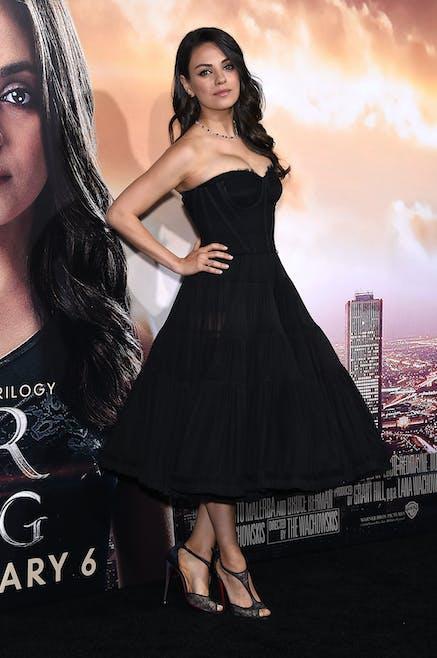 Mila Kunis, 4 mois après son accouchement