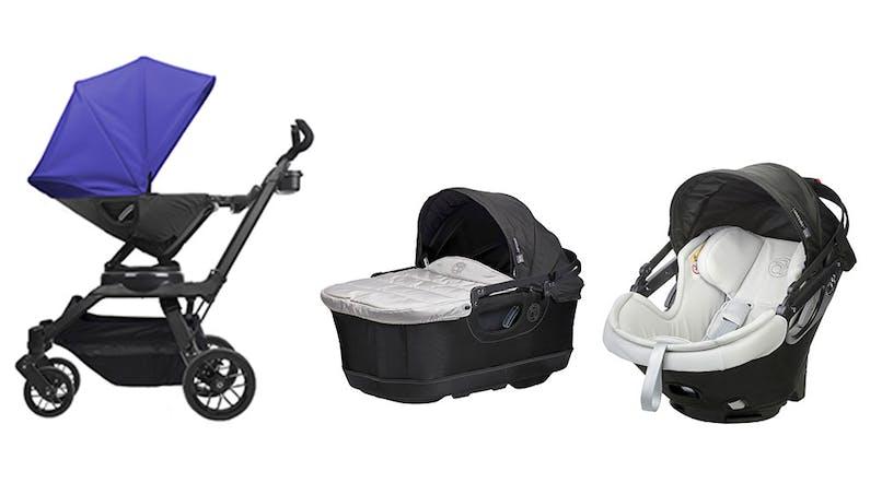 Châssis + hamac + nacelle + pare-soleil + coque 0+ et         base Isofix + panier Orbit Baby : original !