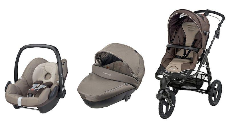 La poussette High Trek + nacelle Windoo Plus + Cosi         Pebble de Bébé Confort : sur mesure !