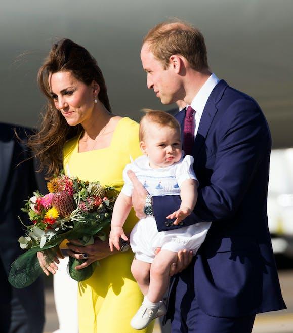 L'arrivée de la famille royale en Australie