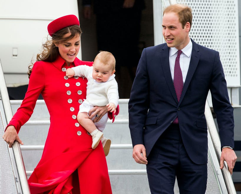 Premier voyage officiel du Prince George
