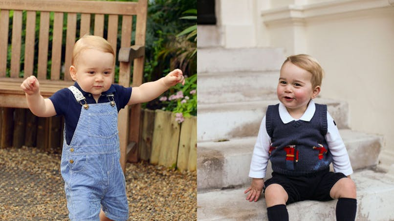 Prince George : son album photos