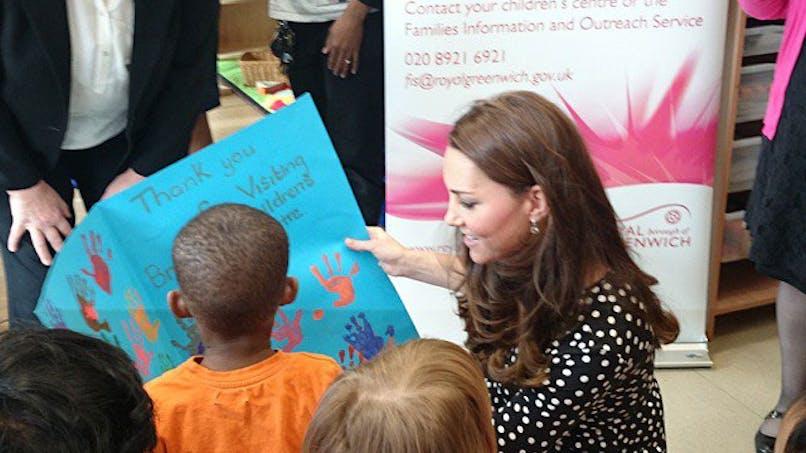 Kate Middleton révèle la date de son accouchement