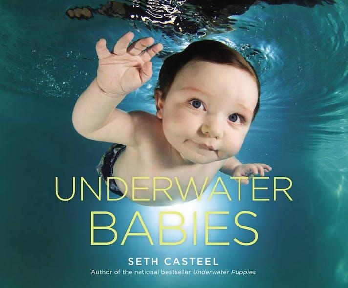 """Couverture du livre """"Underwater babies"""""""