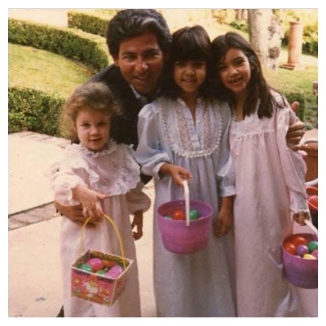 La famille Kardashian (à l'époque)