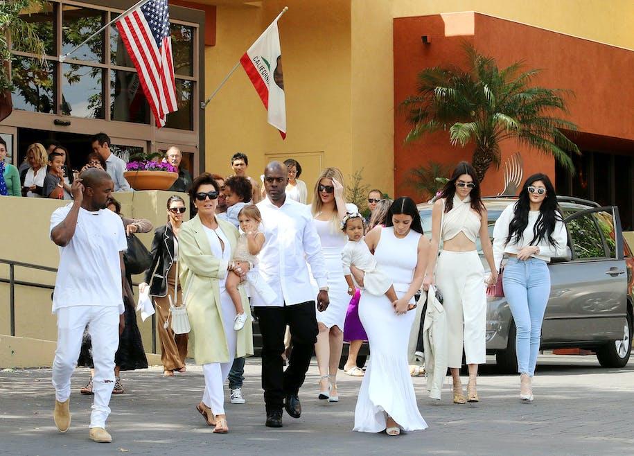 La famille Kardashian