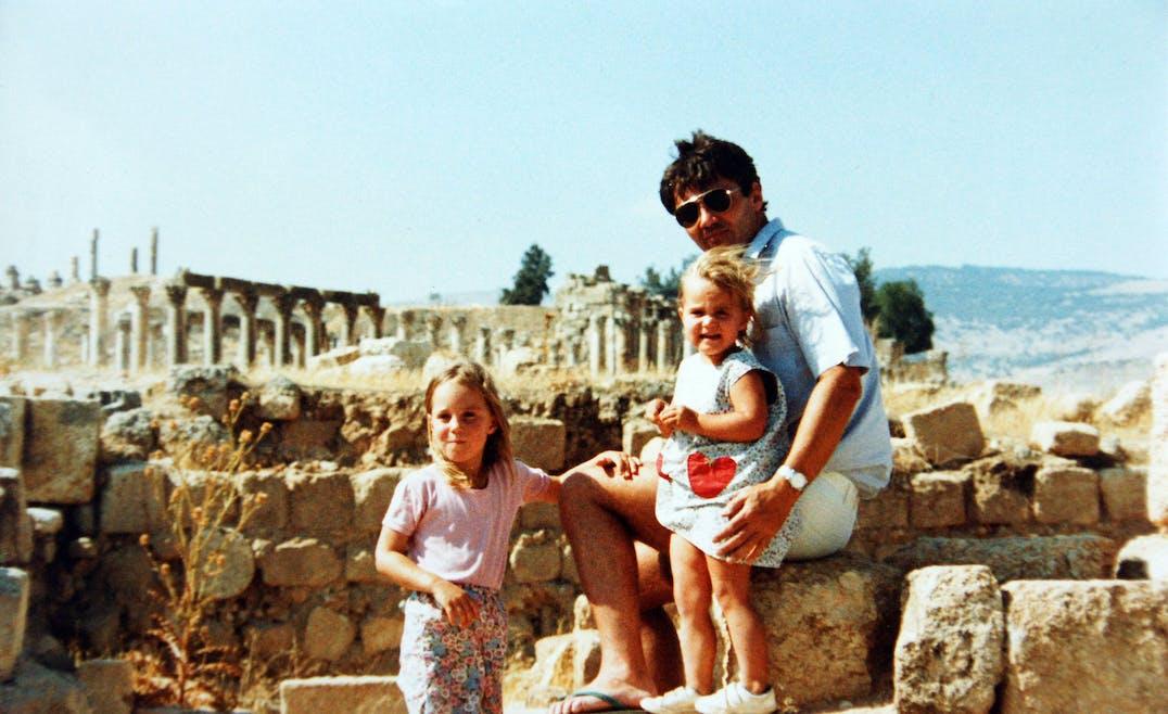 Kate, Pippa et leur papa