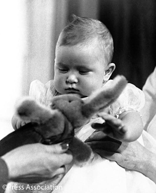 Le prince Charles bébé