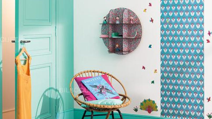 Les papiers peints tendance pour une chambre   d'enfants