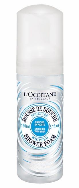 Mousse de Douche Fouettée au Karité, L'Occitane,         12,50€