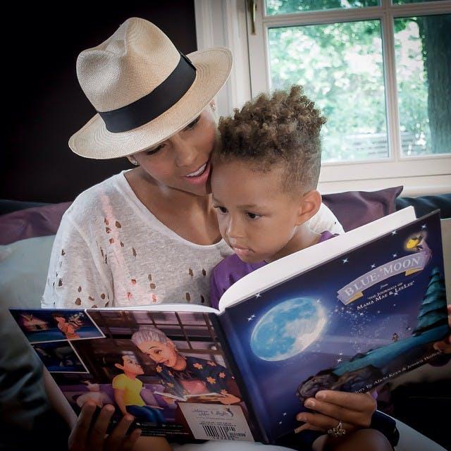C'est Egypt, le fils aîné d'Alicia Keys