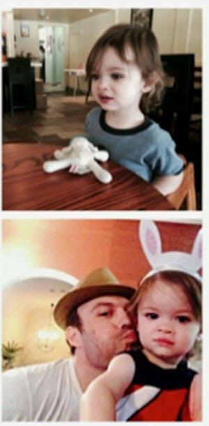 C'est Noah, le fils de Megan Fox et de Brian Austin         Green