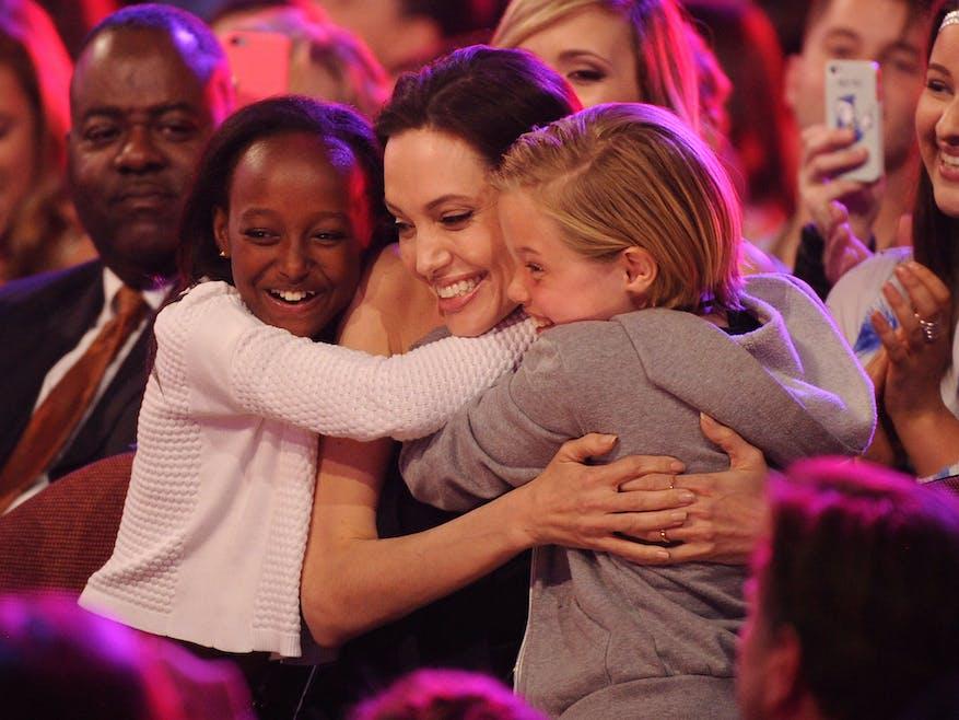 C'est bien sûr Shiloh, la fille d'Angelina Jolie et de         Brad Pitt