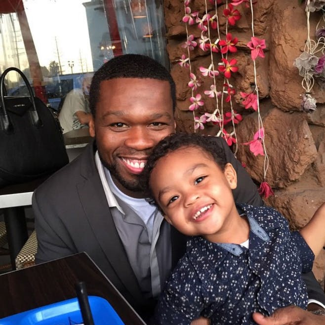 Il s'agit de Sire Jackson, le fils de 50 Cent