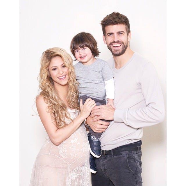 Milan, le fils aîné de Shakira et Gerard Piqué